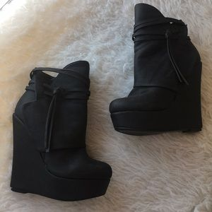 """e8870f6e255e Shi by Journeys """"Righteous"""" Wedge Booties"""